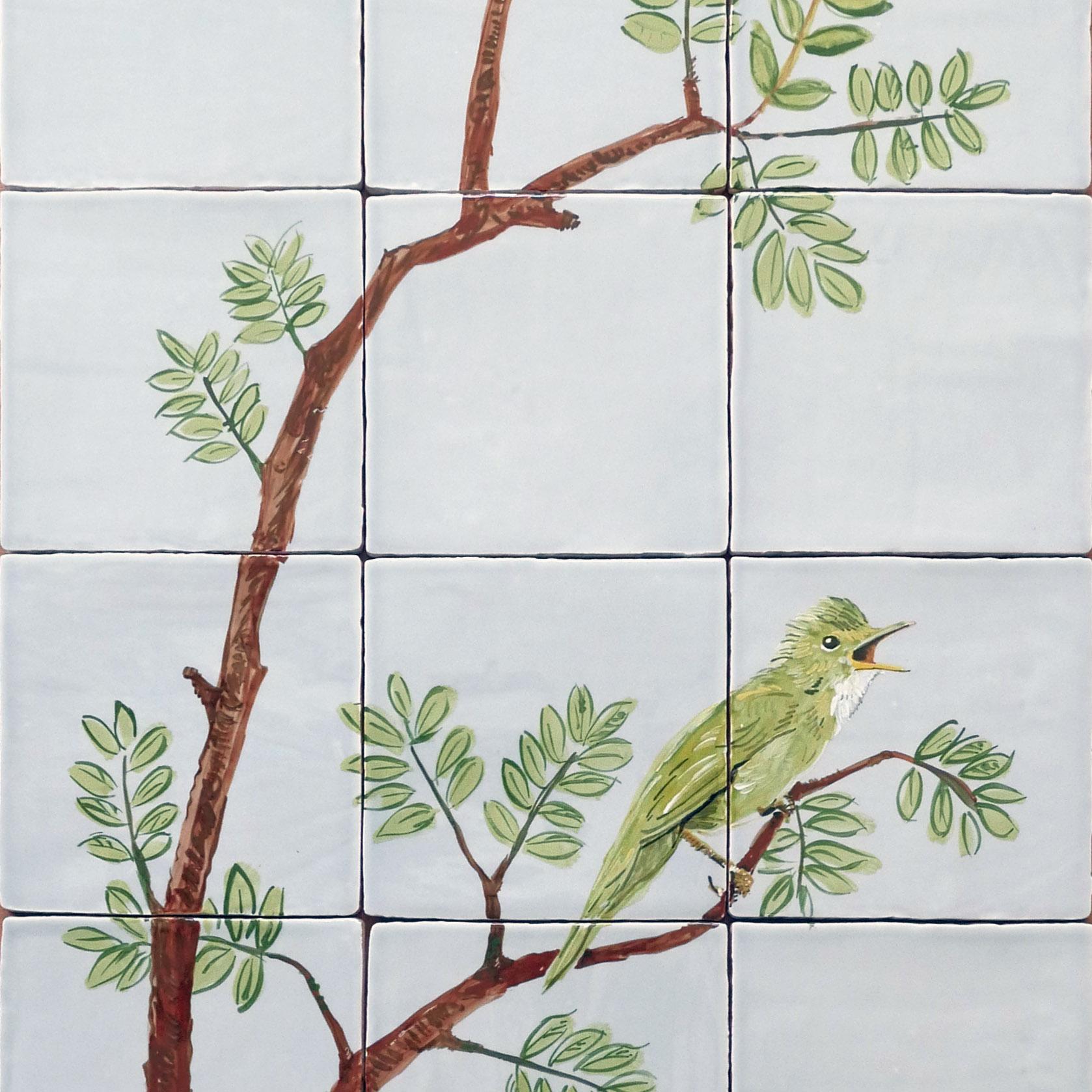 tegeltableau vogels