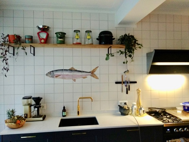 Tile panel herring
