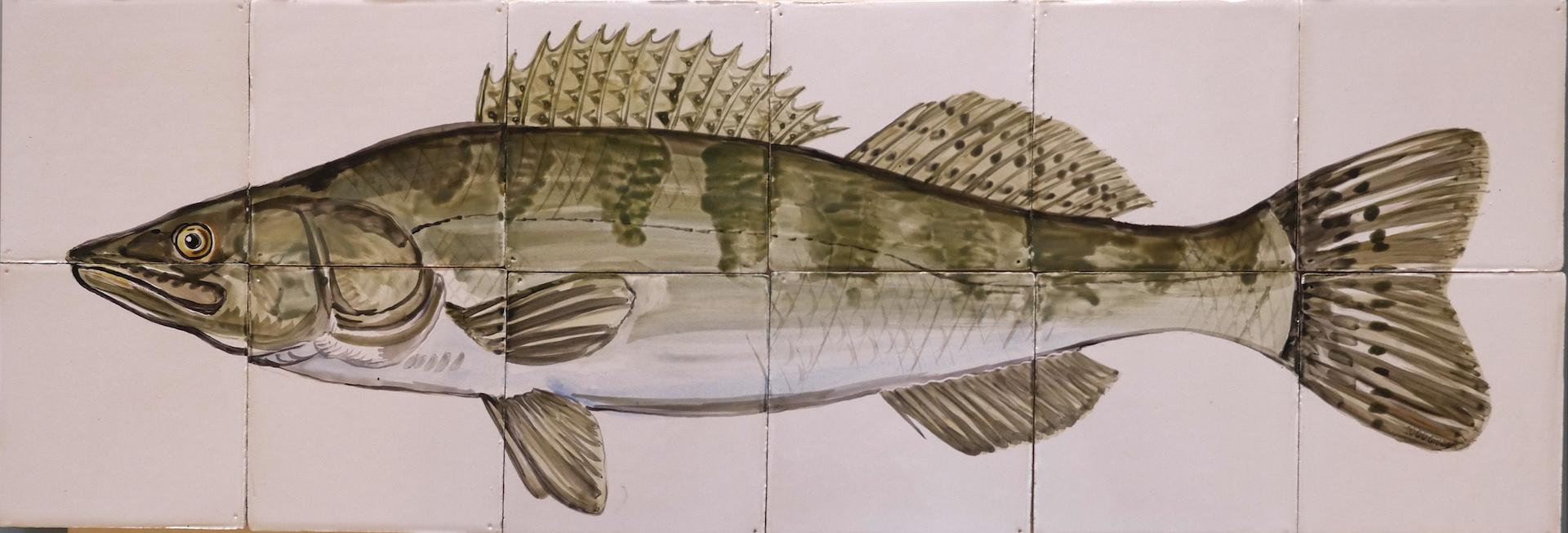 tile panel fish