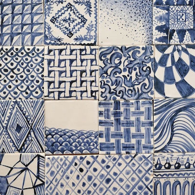 tile panel sketches