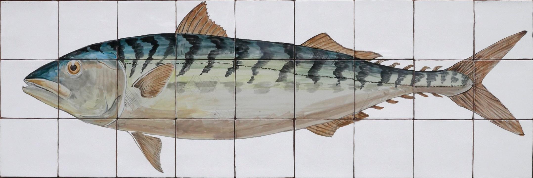 Mackerel tile panel